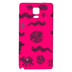 Aztecs Pattern Galaxy Note 4 Back Case by ValentinaDesign