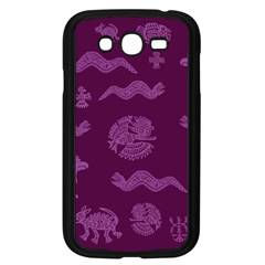 Aztecs Pattern Samsung Galaxy Grand Duos I9082 Case (black) by ValentinaDesign