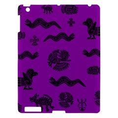 Aztecs Pattern Apple Ipad 3/4 Hardshell Case by ValentinaDesign