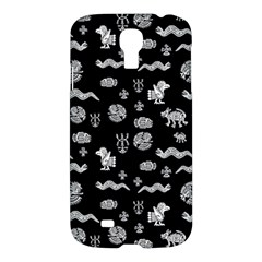 Aztecs Pattern Samsung Galaxy S4 I9500/i9505 Hardshell Case by ValentinaDesign