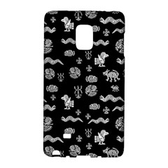 Aztecs Pattern Galaxy Note Edge by ValentinaDesign