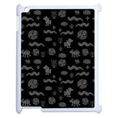Aztecs Pattern Apple Ipad 2 Case (white)