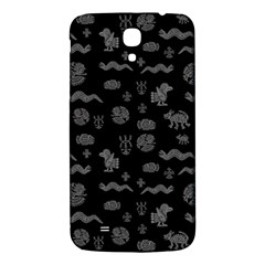 Aztecs Pattern Samsung Galaxy Mega I9200 Hardshell Back Case by ValentinaDesign