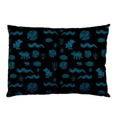 Aztecs Pattern Pillow Case (two Sides) by ValentinaDesign