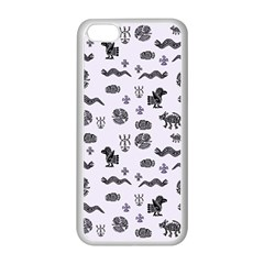 Aztecs Pattern Apple Iphone 5c Seamless Case (white) by ValentinaDesign