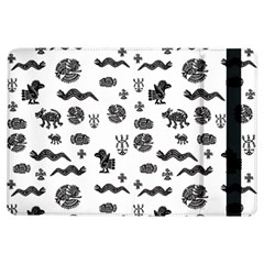Aztecs Pattern Ipad Air Flip by ValentinaDesign