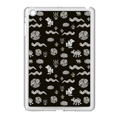 Aztecs Pattern Apple Ipad Mini Case (white) by ValentinaDesign