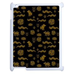 Aztecs Pattern Apple Ipad 2 Case (white) by ValentinaDesign