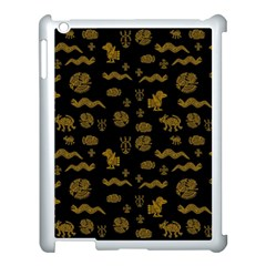 Aztecs Pattern Apple Ipad 3/4 Case (white) by ValentinaDesign