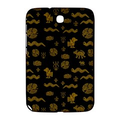 Aztecs Pattern Samsung Galaxy Note 8 0 N5100 Hardshell Case  by ValentinaDesign