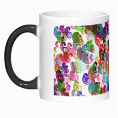 Colorful spirals on a white background             Morph Mug