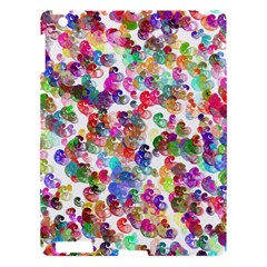 Colorful spirals on a white background       Apple iPad 3/4 Hardshell Case