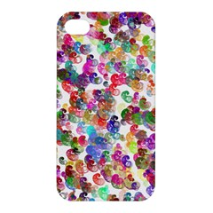 Colorful spirals on a white background       Apple iPhone 4/4S Premium Hardshell Case