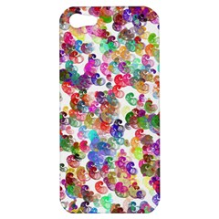 Colorful spirals on a white background       Apple iPhone 5 Hardshell Case