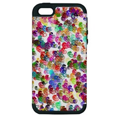Colorful spirals on a white background       Apple iPod Touch 5 Hardshell Case
