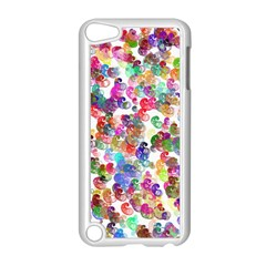 Colorful spirals on a white background       Apple iPod Touch 5 Case (Black)