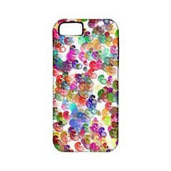 Colorful spirals on a white background       Apple iPhone 4/4S Hardshell Case (PC+Silicone)