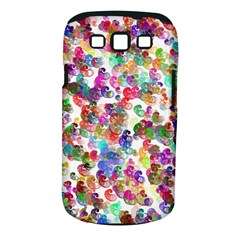Colorful spirals on a white background       Samsung Galaxy S II i9100 Hardshell Case (PC+Silicone)