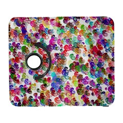 Colorful spirals on a white background       Samsung Galaxy Note II Flip 360 Case
