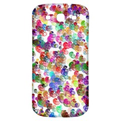 Colorful spirals on a white background       Samsung Galaxy S III Flip 360 Case