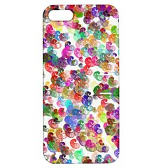 Colorful spirals on a white background       Apple iPhone 4/4S Hardshell Case with Stand