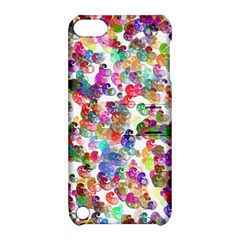Colorful spirals on a white background       Apple iPhone 5 Hardshell Case with Stand