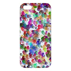 Colorful spirals on a white background       Apple iPod Touch 5 Hardshell Case with Stand