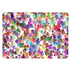 Colorful spirals on a white background       Samsung Galaxy Tab 10.1  P7500 Flip Case