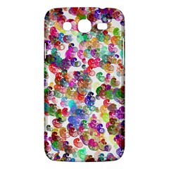 Colorful spirals on a white background       Samsung Galaxy Duos I8262 Hardshell Case