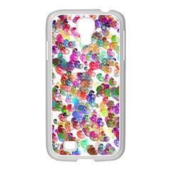 Colorful spirals on a white background       Samsung Galaxy Note 2 Case (White)