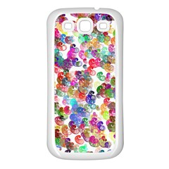 Colorful spirals on a white background       Samsung Galaxy S7710 Xcover 2 Hardshell Case