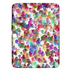 Colorful spirals on a white background       Samsung Galaxy Tab 3 (8 ) T3100 Hardshell Case