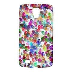 Colorful spirals on a white background       Samsung Galaxy Ace 3 S7272 Hardshell Case