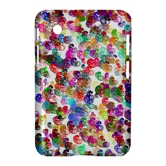 Colorful spirals on a white background       Apple iPhone 5C Hardshell Case