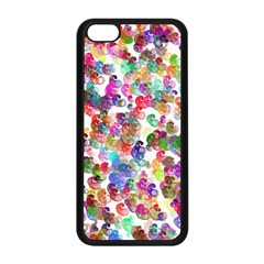 Colorful spirals on a white background       iPhone 5S Premium Hardshell Case
