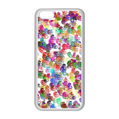 Colorful spirals on a white background       Apple iPhone 5C Seamless Case (Black)