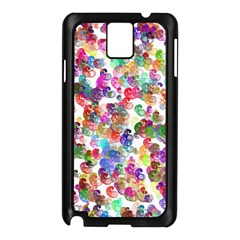 Colorful spirals on a white background       Samsung Galaxy Note 3 N9005 Case (White)