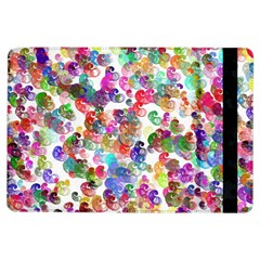 Colorful spirals on a white background       Apple iPad Mini 2 Flip Case