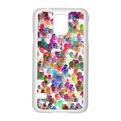 Colorful spirals on a white background       Motorola Moto G (1st Generation) Hardshell Case