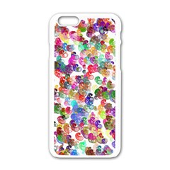 Colorful spirals on a white background       Motorola Moto E Hardshell Case
