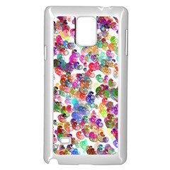 Colorful spirals on a white background       Samsung Note 4 Hardshell Back Case