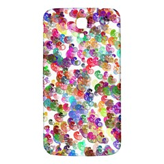 Colorful spirals on a white background       Samsung Galaxy Note 4 PU Leather Hardshell Back Case