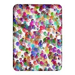 Colorful spirals on a white background       Samsung Galaxy Tab 4 (8 ) Hardshell Case