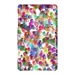 Colorful spirals on a white background       Samsung Galaxy Tab 4 (10.1 ) Hardshell Case