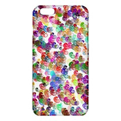 Colorful spirals on a white background       iPhone 6/6S TPU Case