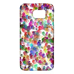 Colorful spirals on a white background       HTC One M9 Hardshell Case
