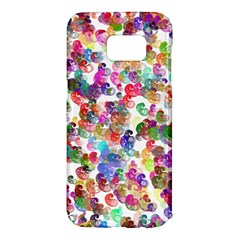 Colorful spirals on a white background              Samsung Galaxy S7 Hardshell Case