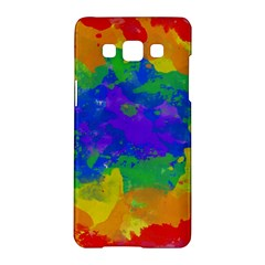 Colorful Paint Texture     Lg L90 D410 Hardshell Case by LalyLauraFLM