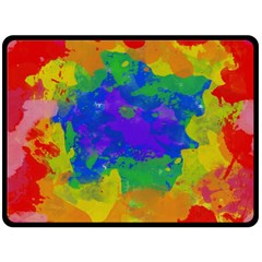 Colorful Paint Texture          Plate Mat by LalyLauraFLM