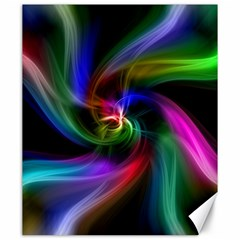 Abstract Art Color Design Lines Canvas 20  X 24